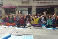 21 Haziran Yoga Günü Kutlaması