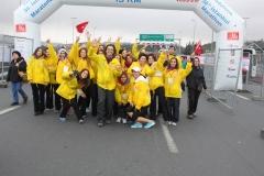 Avrasya Maratonu Gönüllüleri